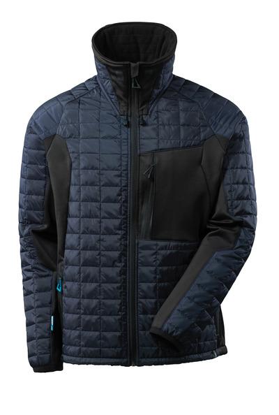 MASCOT® ADVANCED - syvä tummansininen/musta - Takki CLIMASCOT®-vuorilla, kevyt, vettähylkivä