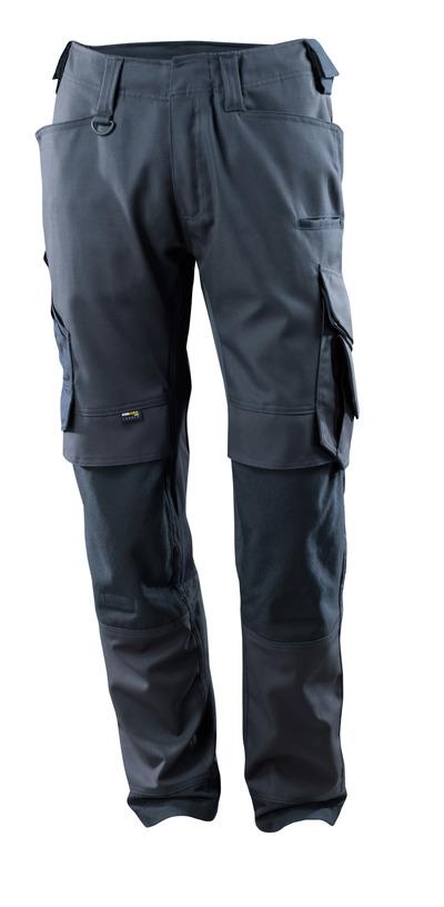 MASCOT® Adra - syvä tummansininen - Housut CORDURA®-polvitaskuilla, joustavat paneelit, hyvä kulutuksenkestävyys
