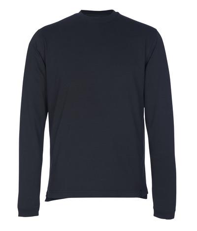 MASCOT® Albi - syvä tummansininen - T-Paita, pitkähihainen, muotoonommeltu