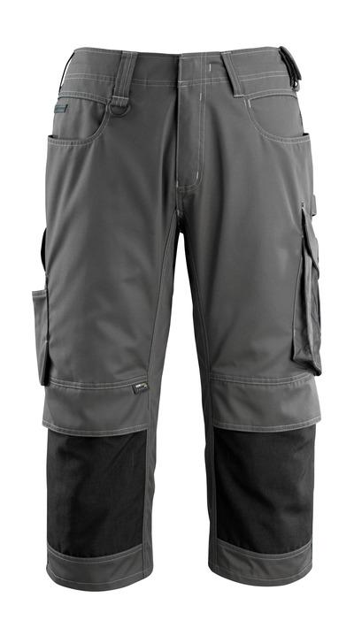 MASCOT® Altona - tumma antrasiitti/musta - ¾-housut
