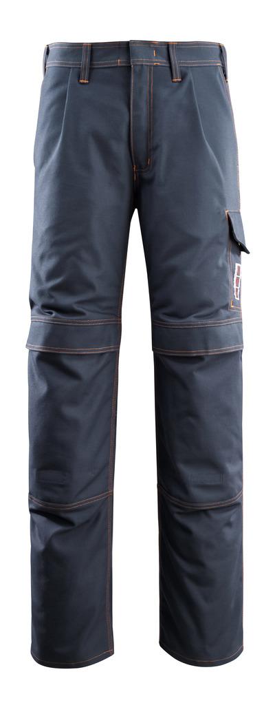 MASCOT® Bex - syvä tummansininen - Housut polvitaskuilla, monisuojaava