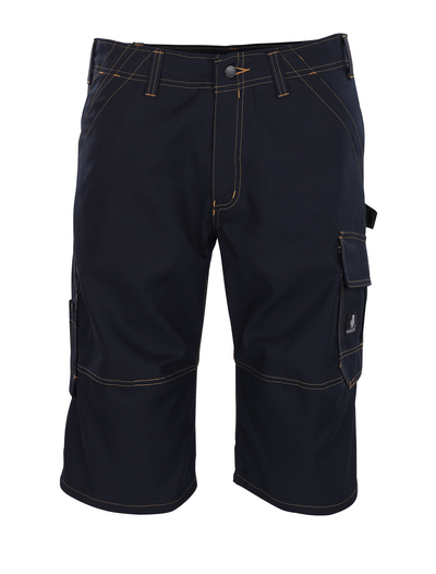 MASCOT® Borba - syvä tummansininen - ¾-housut, hyvä kulutuksenkestävyys