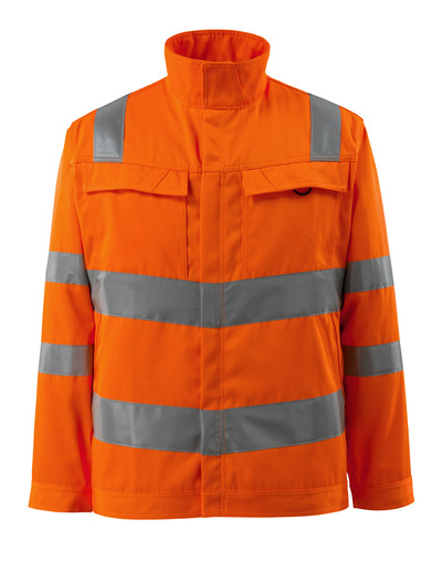 MASCOT® Bunbury - hi-vis oranssi - Takki, hyvä kulutuksenkestävyys, yksivärinen, Luokka 3