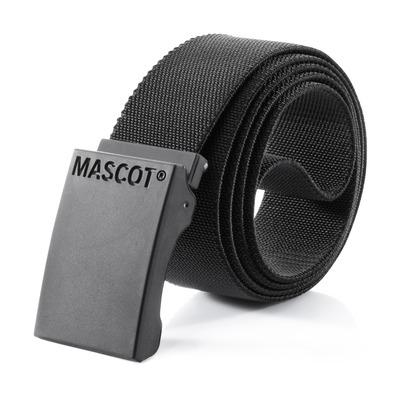 MASCOT® COMPLETE - musta - Vyö säädettävällä soljella, joustava