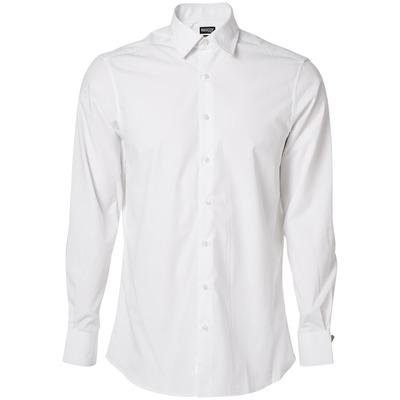 MASCOT® CROSSOVER - valkoinen - Paita, poplin, muotoonommeltu