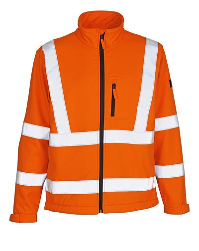 MASCOT® Calgary - hi-vis oranssi - Softshell-takki, fleece-sisäpinta, kl. 3