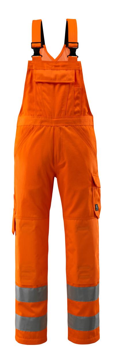 MASCOT® Devonport - hi-vis oranssi - Avosuoja polvitaskut, yksivärinen, Luokka 2.
