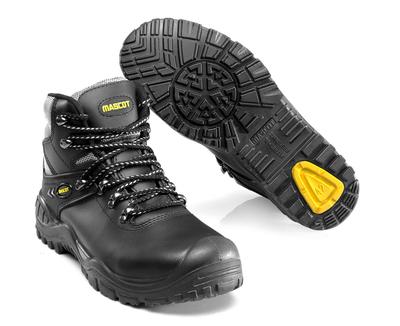MASCOT® Elbrus - musta/keltainen - Turvasaappaat, S3, nauhalliset