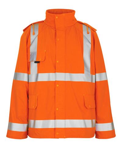 MASCOT® Feldbach - hi-vis oranssi - Sadetakki, tuulen- ja vedenpitävä, Luokka 3