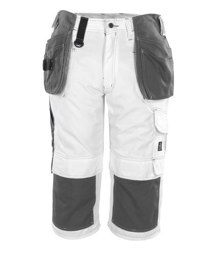 MASCOT® Jaca - valkoinen* - Riipputasku ¾-housut