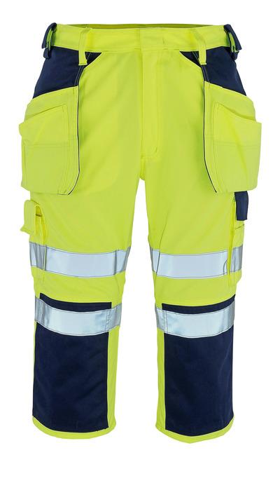 MASCOT® Lagarto - hi-vis keltainen/tummansininen* - Riipputasku ¾-housut