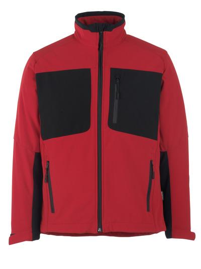 MASCOT® Lagos - punainen/musta* - Softshell Takki