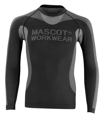 MASCOT® Lahti - musta - Toiminnallinen aluspaita, kevyt, eristävä