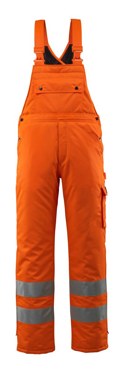 MASCOT® Lech - hi-vis oranssi - Talviavosuoja tikkikangasvuorilla, vedenpitävä MASCOTEX®, Luokka 2