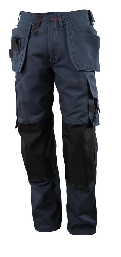 MASCOT® Lindos - syvä tummansininen - Housut CORDURA®-polvitaskuilla ja -riipputaskuilla, kevyt