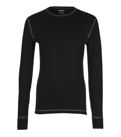 MASCOT® Logrono - musta - Toiminnallinen aluspaita, kosteutta siirtävä, eristävä
