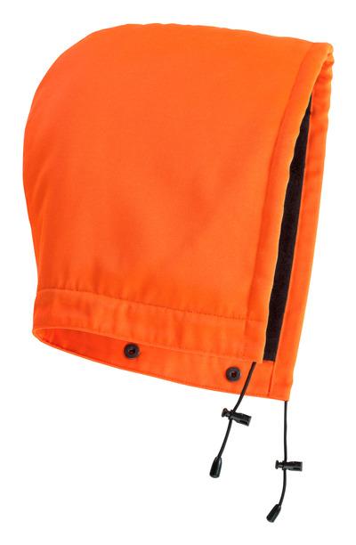 MASCOT® MacAllen - hi-vis oranssi - Huppu painonapeilla, vuorillinen, vettähylkivä