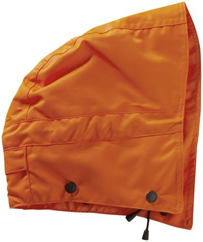 MASCOT® MacCall - hi-vis oranssi - Huppu painonapeilla, vuorillinen, vedenpitävä