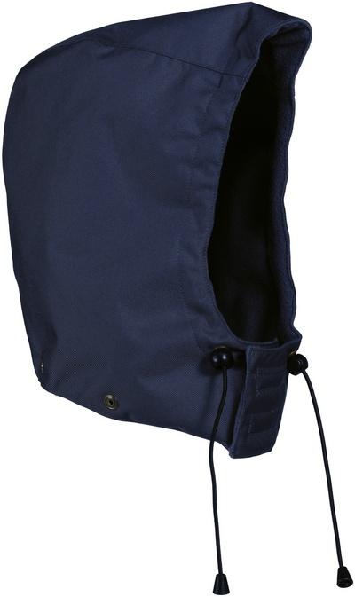 MASCOT® MacKay - tummansininen - Huppu painonapeilla, vuorillinen, vedenpitävä