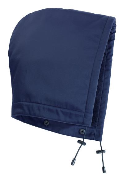 MASCOT® MacKenzie - tummansininen - Huppu painonapeilla, vuorillinen, vettähylkivä