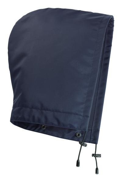 MASCOT® MacKlin - tummansininen - Huppu painonapeilla, vuorillinen, vedenpitävä