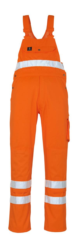 MASCOT® Maine - hi-vis oranssi* - Avosuoja polvitaskuilla