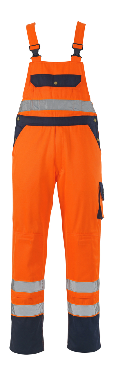 MASCOT® Milano - hi-vis oranssi/tummansininen - Avosuoja