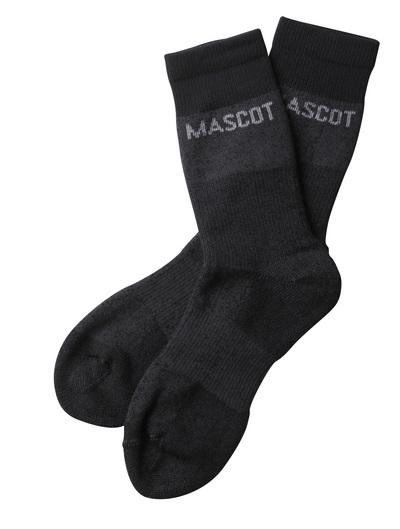 MASCOT® Moshi - meleerattu tumma antrasiitti  - Sukat, kosteutta siirtävä
