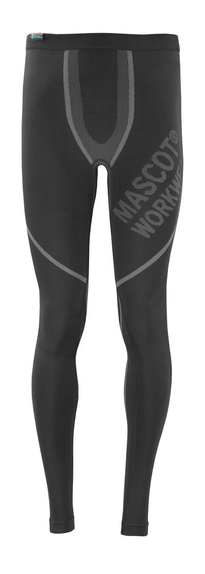 MASCOT® Moss - musta - Toiminnalliset alushousut, kosteutta siirtävä, eristävä