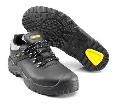 MASCOT® Oro - musta/keltainen - Turvajalkineet, S3, nauhalliset