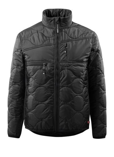MASCOT® Palencia - musta - Takki, jossa on vuori, korkea kaulus ja hyvä eristys