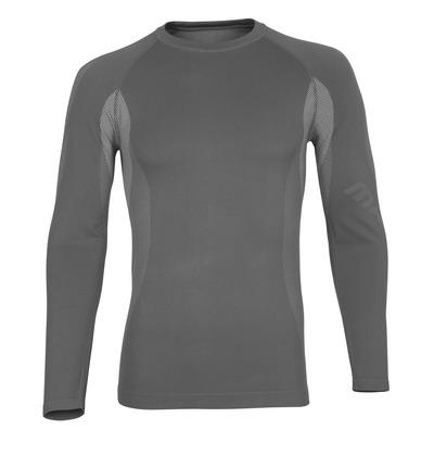 MASCOT® Parada - vaaleanharmaa* - Toiminnallinen aluspaita, kevyt, kosteutta siirtävä