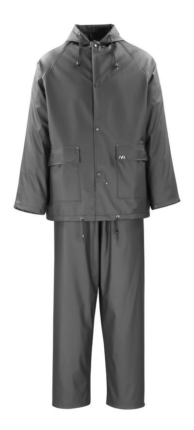 MACMICHAEL® Pavao - musta - Sadetakki ja -housut, tuulen- ja vedenpitävä