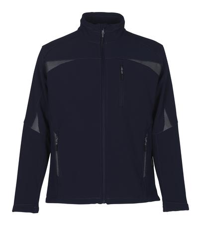 MASCOT® Ripoll - tummansininen - Softshell-takki, fleece-sisäpinta