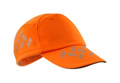 MASCOT® Ripon - hi-vis oranssi - Lippalakki ilmanvaihtorei'illä, säädettävä, heijastimet