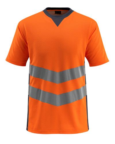 MASCOT® Sandwell - hi-vis oranssi/tumma laivastonsininen - T-Paita