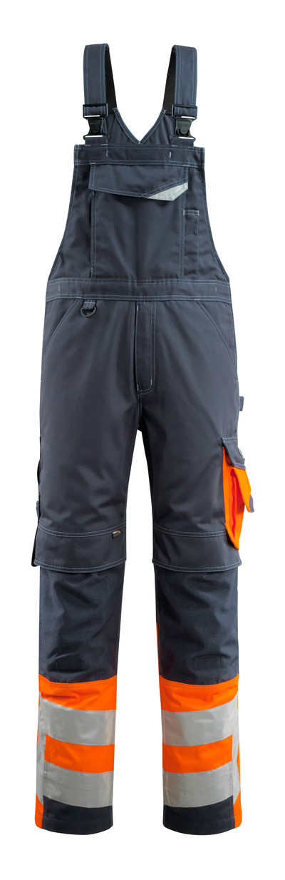 MASCOT® Sunderland - tumma laivastonsininen/hi-vis oranssi - Avosuoja