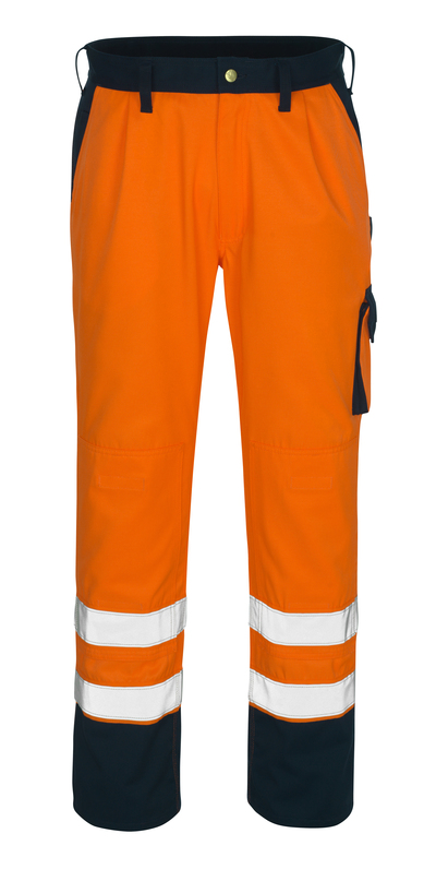 MASCOT® Torino - hi-vis oranssi/tummansininen - Housut