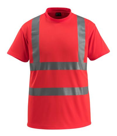 MASCOT® Townsville - hi-vis punainen - T-Paita, klassinen istuvuus, Luokka 2