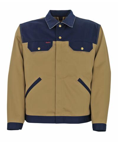 MASCOT® Victoria - khaki/tummansininen/vaaleanharmaa* - Takki