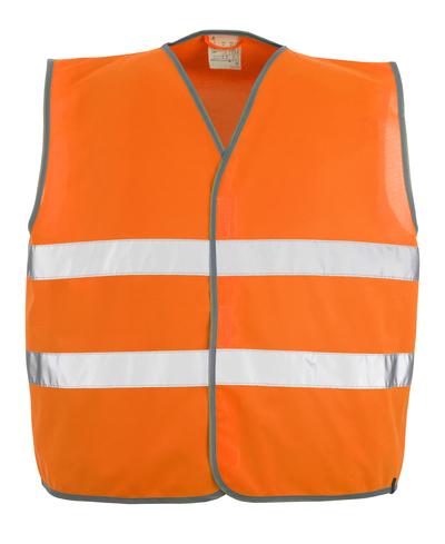 MASCOT® Weyburn - hi-vis oranssi - Varoliivi vetoketjukiinnityksellä, Luokka 2