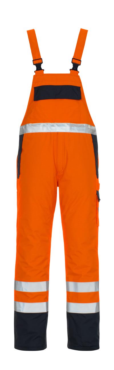 MASCOT® Zug - hi-vis oranssi/tummansininen* - Avosuoja, vuorillinen, monisuojaava, vedenpitävä, Luokka 2/2